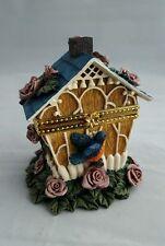 New listing Trinket Box Resin Birdhouse Large