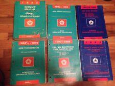 1995 JEEP GRAND CHEROKEE Service Shop Repair Manual SET W DIAGNOSTICS BOOKS OEM