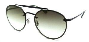 Ray-Ban Sunglasses RB 3614N 148/0R 54-18-145 Blaze Black / Green - Grey Gradient