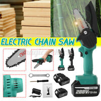 1200W Mini One-Hand Saw Woodworking Electric Chain Saw Wood Cutter Cordless