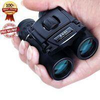 Compact Zoom Binoculars Range Folding HD Zoom Outdoor Travel Binoculars Hunting