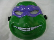 Donatello Teenage Mutant Ninja Turtle Mask  Turtles Fancy Dress Party Costume
