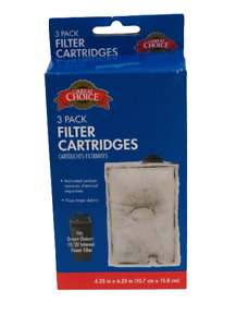 Great Choice 3 Pack Filter Cartridges Fits Great Choice 10/20 Internal Filter
