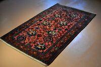 GENUINE Antique rug 4x6 Lilihan, Pre 1900, Authentic Original, Bakhtiar Design