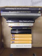 11 Bücher Ägyptologie, Ägypten, Pharao, Nofretete - Sammlung, Bücherpaket