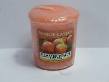 Yankee candle 5x Duftkerzen, Summer Peach, Votivkerze, 320-347