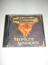 Dungeons & Dragons: Official Roleplaying Soundtrack: Midnight Syndicate (New)