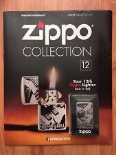 DEAGOSTINI ZIPPO LIGHTER COLLECTION ROCK 'N' ROLL ISSUE 12 & MAGAZINE