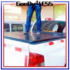 "99-18 GM Silverado Sierra 5'8"" 68"" short Bed Hard Trifold Clamp-On Tonneau Cover"