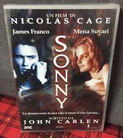 Sonny (2002) DVD Nuovo Sigillato di Nicolas Cage James Franco Mena Suvari Carlen