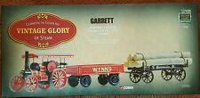 Corgi Vintage Glory Garrett 4CD Road Tractor etc - Wynns 80305 LOW CERT NO