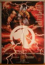"""THOR Promo poster, Thunder God, 24"""" x 36"""", 1998, Unused, more in our store"""