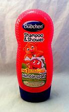 Bübchen Shampoo & Shower Himbärspaß for Kids 230ml (100ml/1,52€) kein Ziepen
