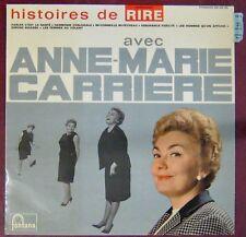Anne-Marie Carrière 33 tours Histoires de rire