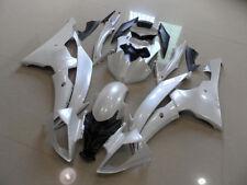 Pearl White Fairing Injection Bodywork Frame Fairings For Yamaha R6 2008-2015 09