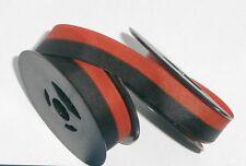 Hermes 10 Typewriter Ribbon - Black and Red Ink