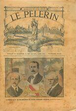 Comte d'Andlau Prince Loewenstein Georg Wellstein Strasbourg 1905 ILLUSTRATION