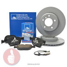 ATE Bremsscheiben belüftet 320mm + Bremsbeläge + Warnkontakt VORNE AUDI A4 A5