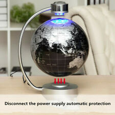 8'' Magnetic Levitating Globe Anti-Gravity Floating Rotate Earth Gift For Friend