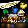 Led Light Kit Only For Lego 10245 Santas Workshop Castle Bricks IY Tool Gift