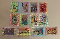 2000 Artbox The Powerpuff Girls Trading Cards - Silver Foil Set of 12 Cards