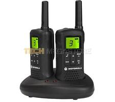 MOTOROLA TLKR t60 Walkie Talkie Radio a due vie Twin Pack 2 8km Gamma