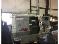 2000 Haas SL-30 CNC Lathe 30HP 3400 RPM 12 Station Turret Under Power & Running