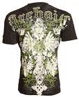Archaic AFFLICTION Men T-Shirt EVESHAM Cross Wing Tattoo Biker MMA UFC L-4XL $35