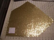 Sm Gold Remnant Metal Brass Mesh Baked Enamel Ric Rac Do Dads Haberdashery VTG
