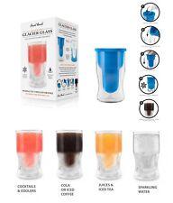 Final Touch Porte-bouteille Glacier Glass - Set Verre Moule Silicone