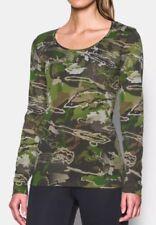 $45 Under Armour Threadborne Early Season Women's Sz 2XL Hunting L/S Camo Shirt