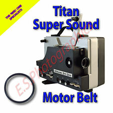 TITAN SUPER SOUND 8mm alle cine proiettore Cinghia (motore principale Cintura)