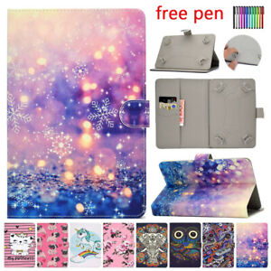 """For Lenovo Tab 3 4 8 Plus E8 8.0"""" Tablet Universal PU Leather Cover Case Stand"""