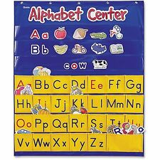 "Learning Resources Alphabet Center Pocket Chart 28""x34"" Multi Ler2246"
