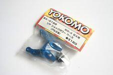 Yokomo MR-4 BX Blue Aluminium Rear Shock Base - BX-018B MR4BX