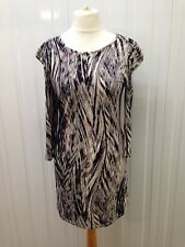 Women's Next Bodycon Dress With Ruffle Sleeves - Size 16 - Great Condition