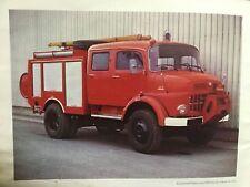 Rare Catalogue 1976 Camions MERCEDES BENZ