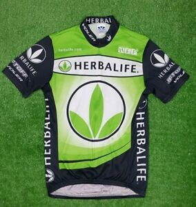 Voler Cycling Jersey Herbalife Size S Made in USA Short Sleeve