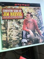 The County Side of Jim Reeves CAS-686  RCA 1962 Vinyl LP Record