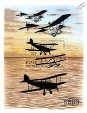 de Havilland TIGER MOTH/SPARTAN ARROW Aircraft Stamp Sheet (BLACKBURN MONOPLANE)