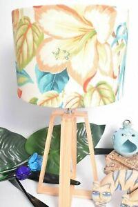 Tommy Bahama Fabric Table Lamp shade Hawaiian NEW Tropical Palm Lampshade Custom