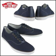 Vans Woessner Midnight (Canvas) Blue Men's Casual Shoes NEW US 7.5