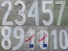 NUMERO VALSPORT BIANCO MAGLIA ANNI 60 70 80 inter juventus milan bologna TORINO