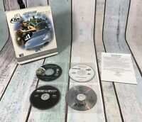 RARE EA Compilations: Populous Need For Speed NBA Live Big Box PC CD ROM Game