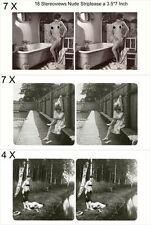 18 neckische Akt - Stereofotos, Zeit zu Baden um 1930, Lot 3 - Stereoviews