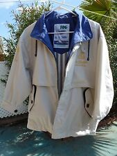 Womens Beige LONDON FOG Lined Windbreaker