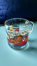 1978 Mc Donalds Garfield Coffee/Tea Mug-Used--no chips or cracks