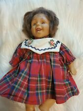 Vintage Creepy Baby Doll Small Halloween Decor Chucky Daughter Abandoned Prop