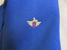 VINTAGE SLA iniziali con Logo Art Deco cravatte cravatta da Londra