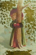 E. P Carpenter Organ Co. Gise Bros Musical Merchandise Girl Hugging Tree &A